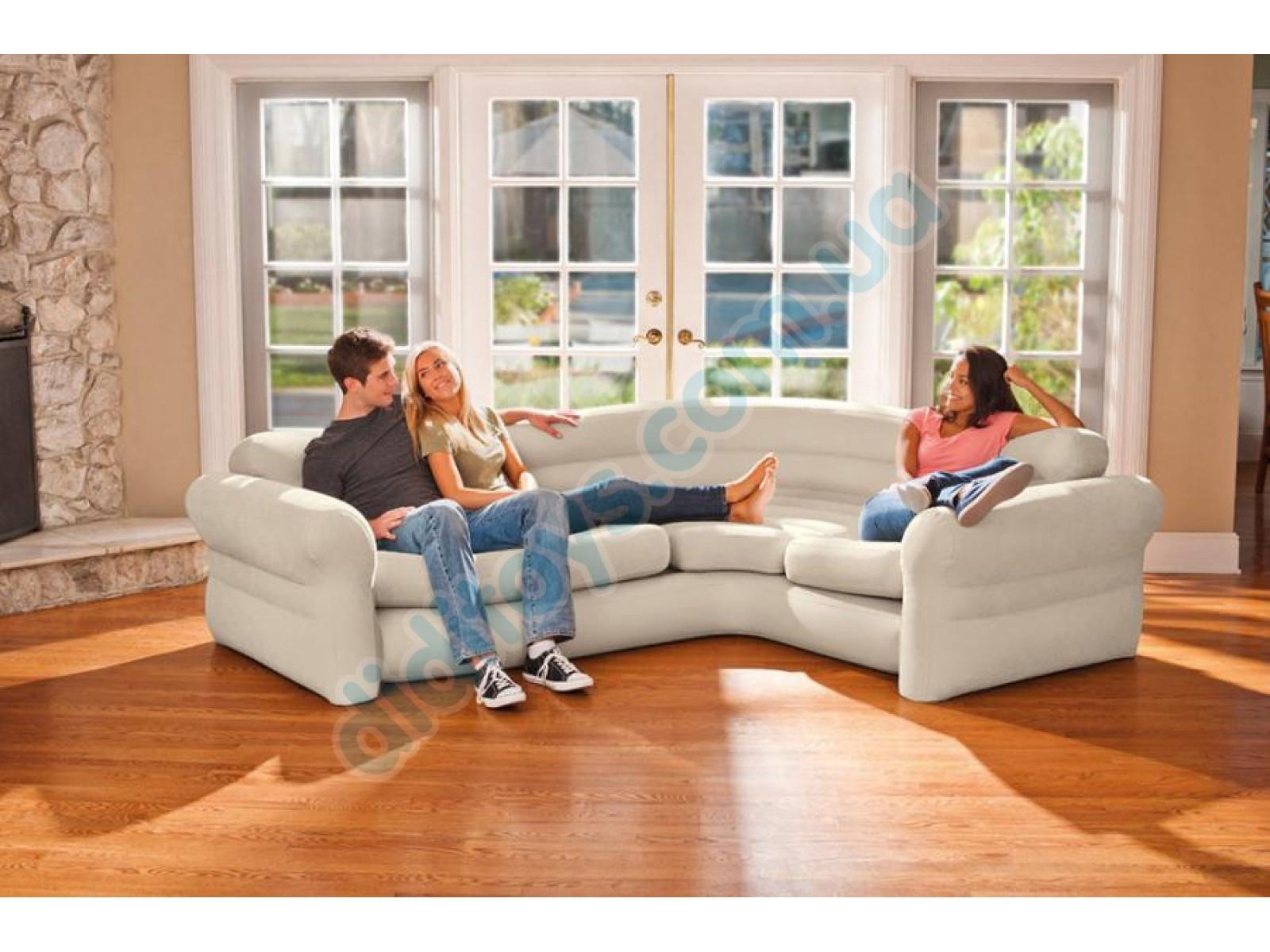 Магазин intex-market - надувной диван угловой intex 68575 (2.